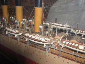 Стендовая модель учебного корабля Океан 3