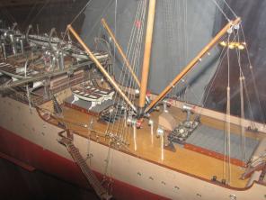 модель учебного корабля Океан  ручной работы 4