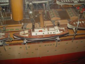 Авторская модель учебного корабля Океан 5