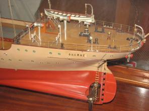 Коллекционная модель учебного корабля Океан 6