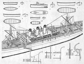 Чертёж учебного судна Комсомолец