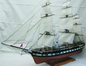 Модель  парового фрегата Олег