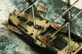 модель крейсера Владимир Мономах 1