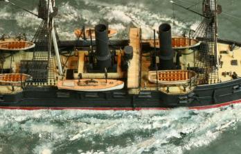 модель крейсера Владимир Мономах 2