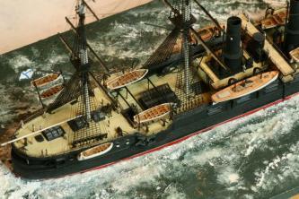 модель крейсера Владимир Мономах 3