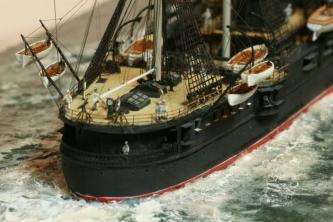 модель крейсера Владимир Мономах 4