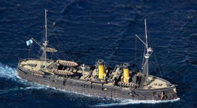 Авторская модель корабля Владимир Мономах. общий вид