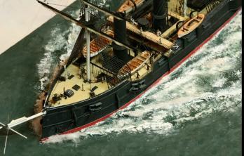 Авторская модель крейсера Владимир Мономах
