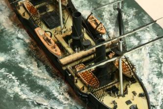 Авторская модель корабля Владимир Мономах