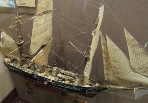 Авторская модель корабля Витязь. общий вид