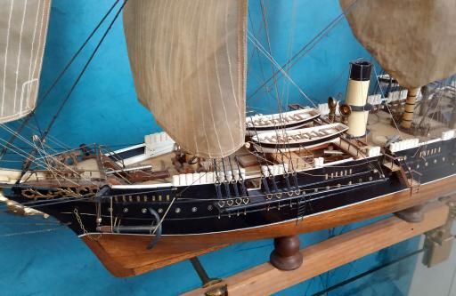 Модель корабля Витязь ручной работы