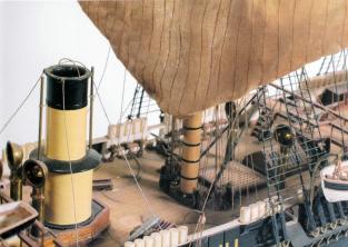 Модель корвета Витязь ручной работы