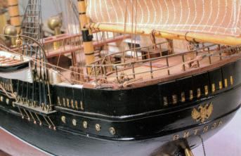 Авторская модель корабля Витязь