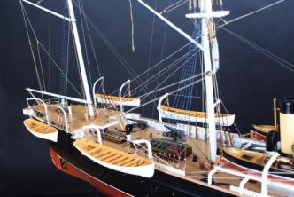 Авторская модель корабля Витязь II
