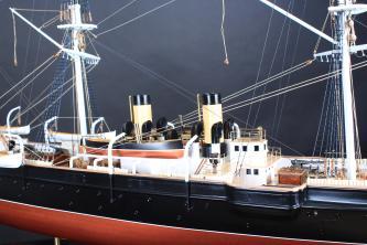 модель корвета Витязь II ручной работы