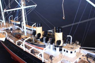 Авторская модель  корвета Витязь II