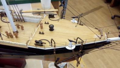 модель корвета Витязь II