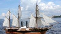 Модель пароходо-фрегата Владимир