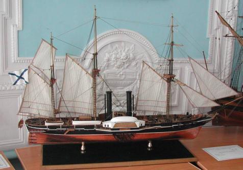 Авторская модель пароходо-фрегата Владимир Галкина