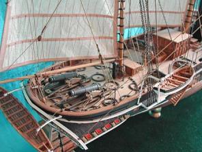 Авторская модель пароходо-фрегата Владимир ют