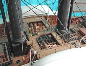 Коллекционная модель пароходо-фрегата Владимир