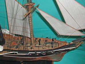 эксклюзивная модель пароходо-фрегата Владимир