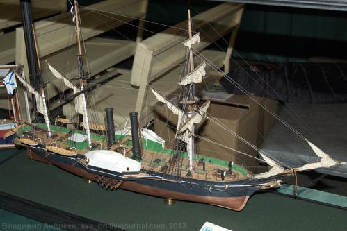 Авторская модель пароходо-фрегата Владимир Меркушева