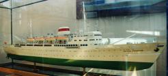 Модель лайнера Башкирия