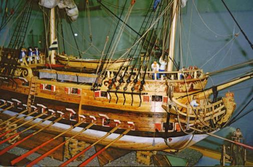 Авторская модель фрегата Терезия