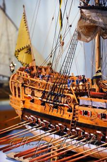 Авторская модель корабля Терезия