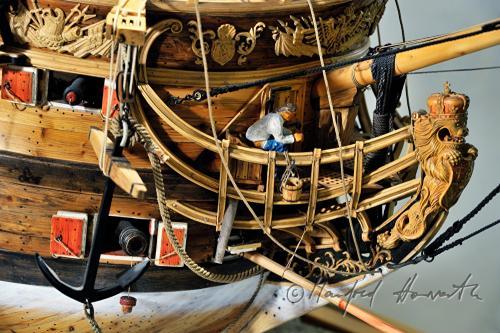 модель корабля Терезия ручной работы