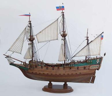 Авторская модель корабля Апостол Пётр. общий вид