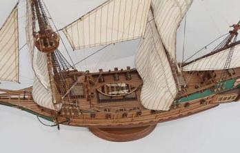 Модель корабля Апостол Пётр ручной работы