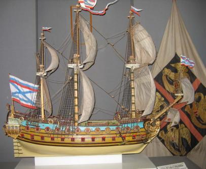 модель корабля Гото Предестинация ручной работы