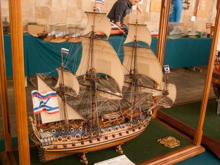 Авторская модель корабля Гото Предестинация