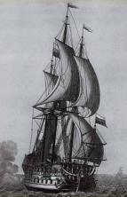 гравюры корабля  Гото Предестинация нос