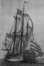 гравюры корабля  Гото Предестинация корма
