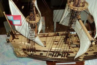 Модель фрегата Петр и Павел