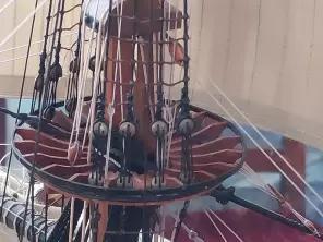 Авторская модель корабля Полтава. марс
