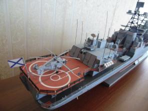 Авторская модель корабля Адмирал Левченко 3
