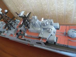 Стендовая модель корабля Адмирал Левченко 5