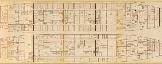 Модель корабля пр. 1914 Маршал Крылов
