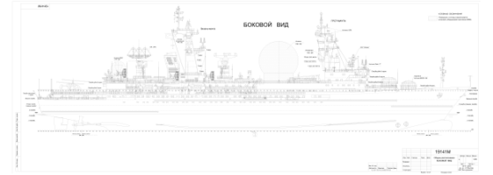 Масштабные модели кораблей ручной работы. КИК пр. 1914 Маршал Крылов