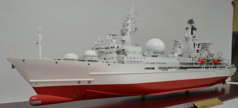 Авторская модель корабля  Маршал Крылов