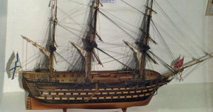 Модель корабля Двенадцать Апостолов