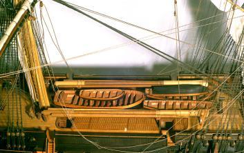 Модель корабля Двенадцать Апостолов. шкафут