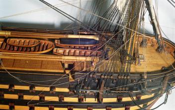 Модель корабля Двенадцать Апостолов. бак