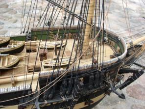 модель корабля Азов ручной работы