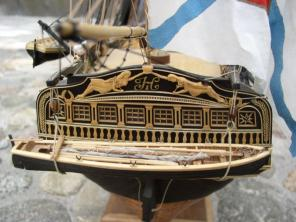 Стендовая модель корабля Азов 5