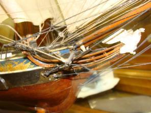 коллекционная модель яхты «Нева»